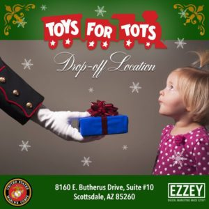 Ezzey Scottsdale Digital Marketing Social Media Marketing Agency US Marine Corps Toys for Tots